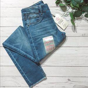 NWT Imperial Star Girls Medium/Dark Wash Jeans